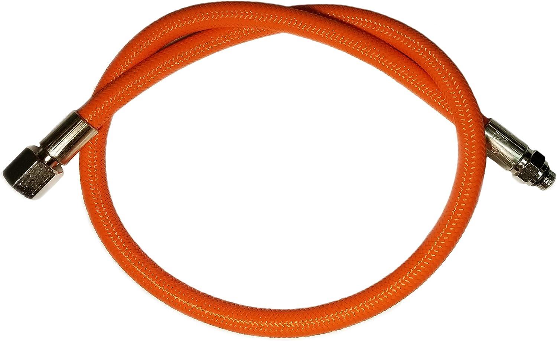 METALSUB R/égulateur Flexible tress/é Orange