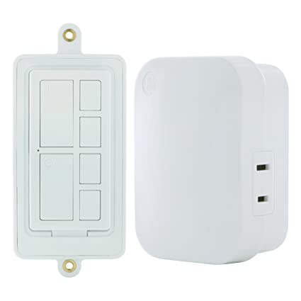 GE mySelectSmart Wireless Remote Control Light Switch with Countdown