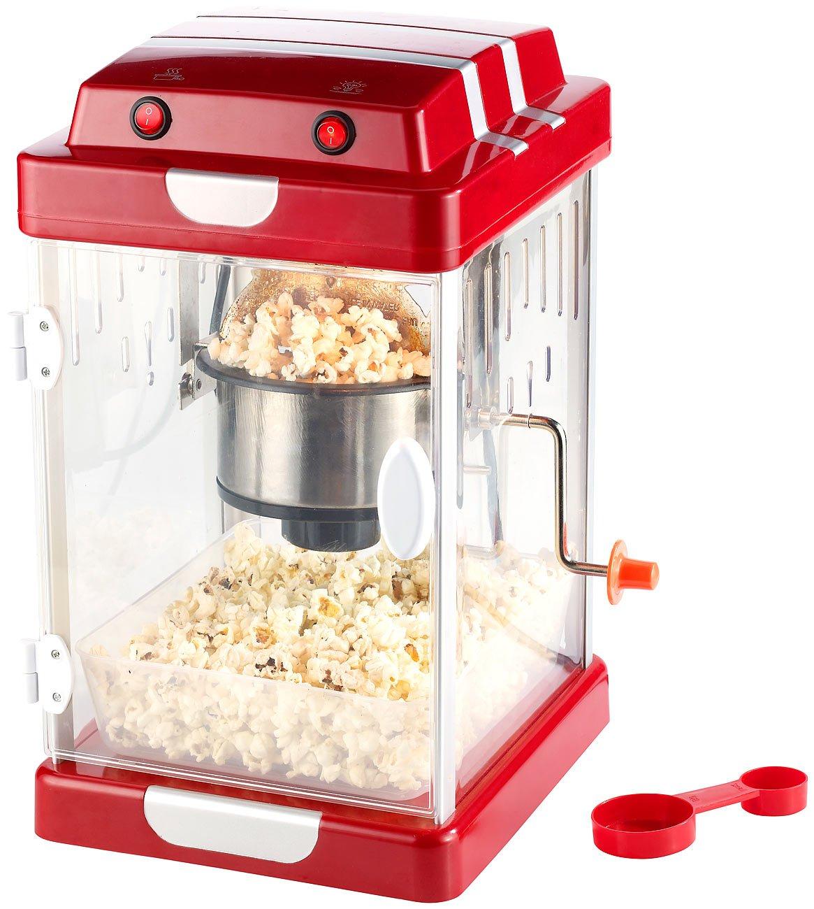 Rosenstein & Söhne - Máquina de palomitas de maíz: Amazon.es: Hogar