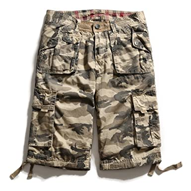 6a0f76bfb4 Men's Casual Summer Combat Cargo Shorts: Amazon.co.uk: Clothing