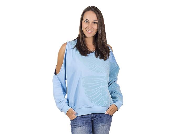 adidas Originals - Sudadera - para mujer azul azul 38: Amazon.es: Ropa y accesorios