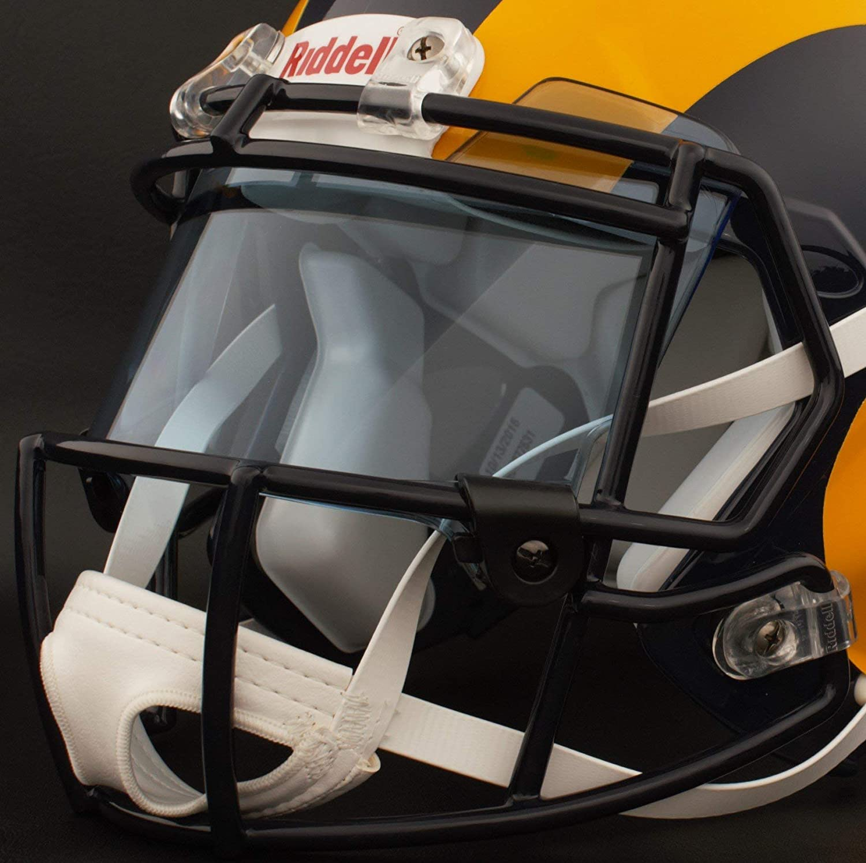 cb19d0a63 Amazon.com   Riddell Custom Los Angeles RAMS Full Size NFL Speed Football  Helmet   Sports   Outdoors