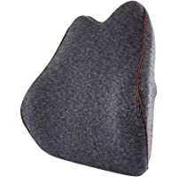 Bloodyrippa Memory Foam Lumbar Support Back Cushion with Adjustable Strap, Effective Back Pain Relief, Orthopedic Backrest Pillow for Office Chair, Car Seat, Recliner