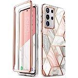 Capa i-Blason Cosmo Series para Samsung Galaxy S21 Ultra 5G, capa protetora fina e elegante sem protetor de tela integrado (m