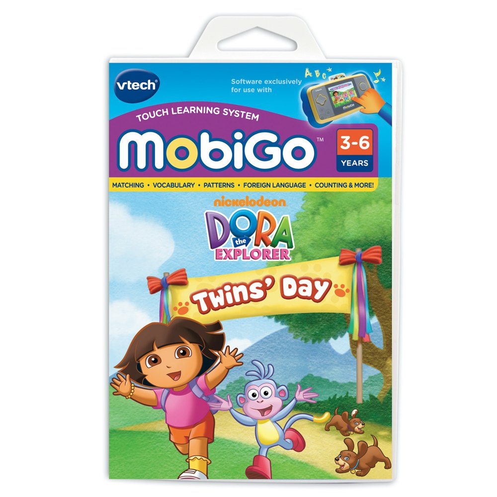 VTech - MobiGo - Jeu MobiGo - Dora The Explorer - Dora l'Exploratrice Version Anglaise (Import UK) B003H4PWG8