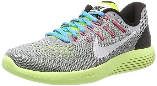 Nike 843726-017, Zapatillas de Trail Running para Mujer, Gris (Wolf Grey/White-Volt-Gamma Blue), 36.5 EU: Amazon.es: Zapatos y complementos