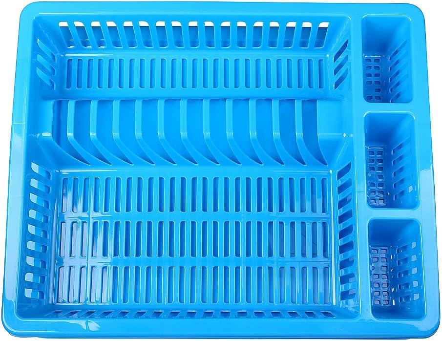 Farbe:Pink 46 x 37 x 8 cm Escurridores Soporte de drenaje Bandeja de drenaje Rejilla de drenaje Escurridor de platos Cesta de drenaje Cesta de drenaje Schramm/® con bandeja en 10 colores aprox