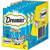 Dreamies Cat Treats, Salmon, 60g x 6