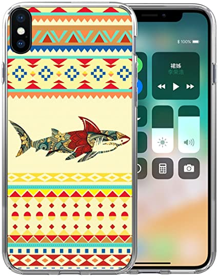 the best attitude 580ca ddb57 XS Case Shark/IWONE Protector Cover Skin Protective TPU Rubber Clear  Compatible with iPhone Xs[10S] / X[10] + Lovely Animal Shark