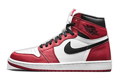 online retailer 7123e 7a42e Foot Locker House of Hoops AIR Jordan 1 Retro HIGH OG Chicago White Varsity  Red