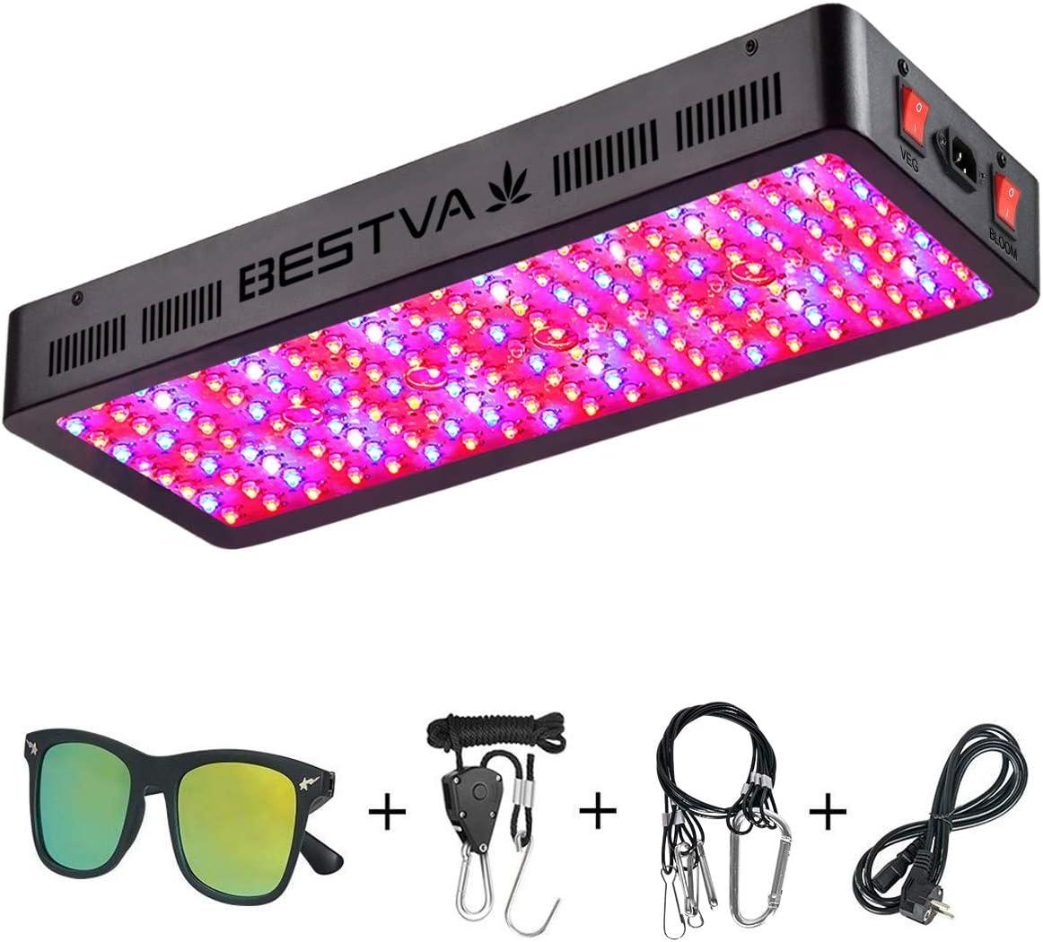 BESTVA DC Series 2000W LED Grow Light Full Spectrum for Hydroponic Plants