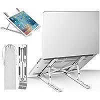 Laptop Stand, iVoler Laptop Holder Riser Computer Tablet Stand, Adjustable Aluminum Ergonomic Foldable Portable Desktop…