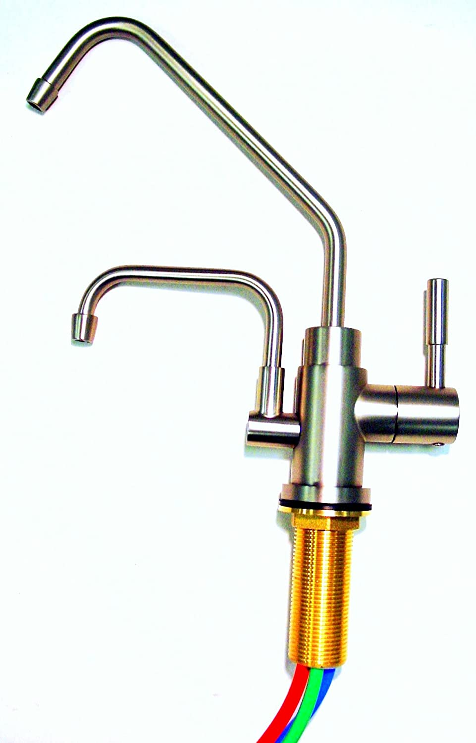 Jupiter Ionizer Undersink Installation Kit - 2 Headed - Brushed Nickel Faucet