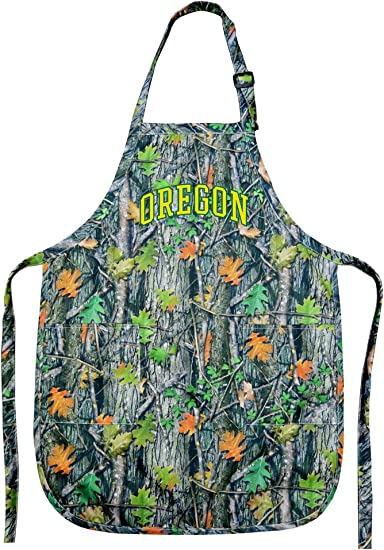 Broad Bay Deluxe University of Oregon Apron Official UO Logo Aprons