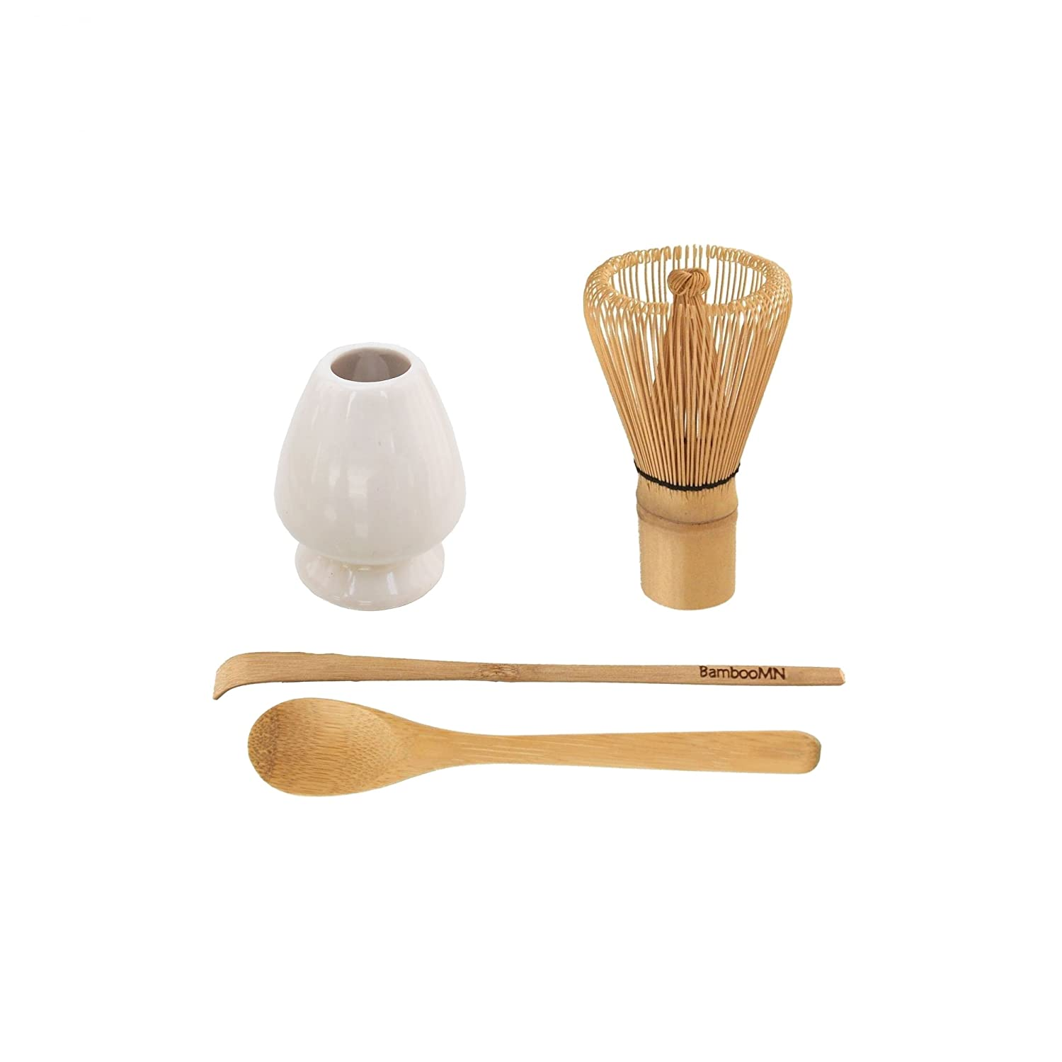 Coral BambooMN Brand Matcha Whisk Rest