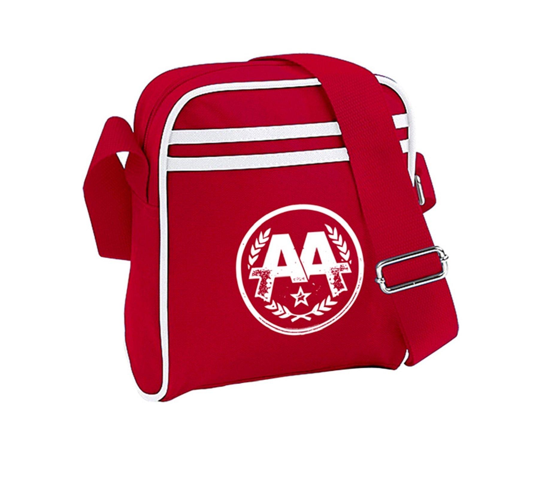 Asking Alexandria Circle Logo Official New Red Mini Messenger Bag