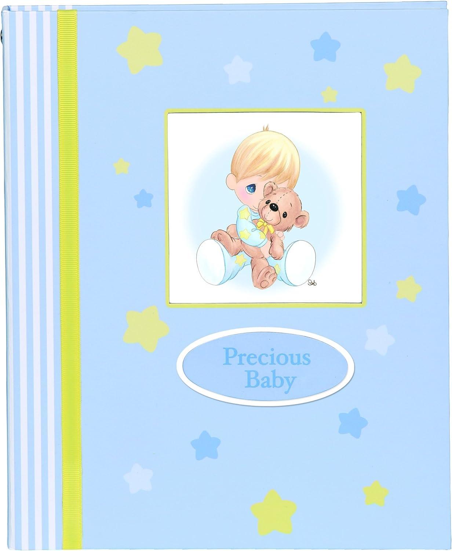 Amazon Com Precious Moments Baby Gifts Precious Baby Keepsake Album Boy 143415 Home Kitchen