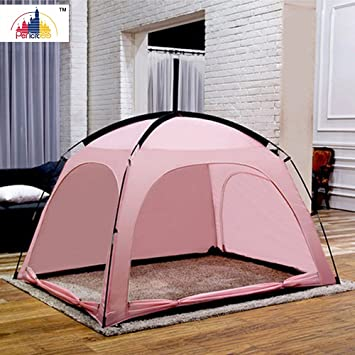 Pericross® Play Tent for Kids Adult Bed Tents (180*210CM Pink) & Pericross® Play Tent for Kids Adult Bed Tents (180*210CM Pink ...