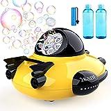 Betheaces Bubble Machine - Spaceship Theme Bubble Maker 2000+ Bubbles Per Minute, Bubble Machine Toys for Kids Boys Girls Tod