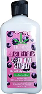 product image for Hempz Fresh Berries & Red Wine Sangria Body Moisturizer 6oz