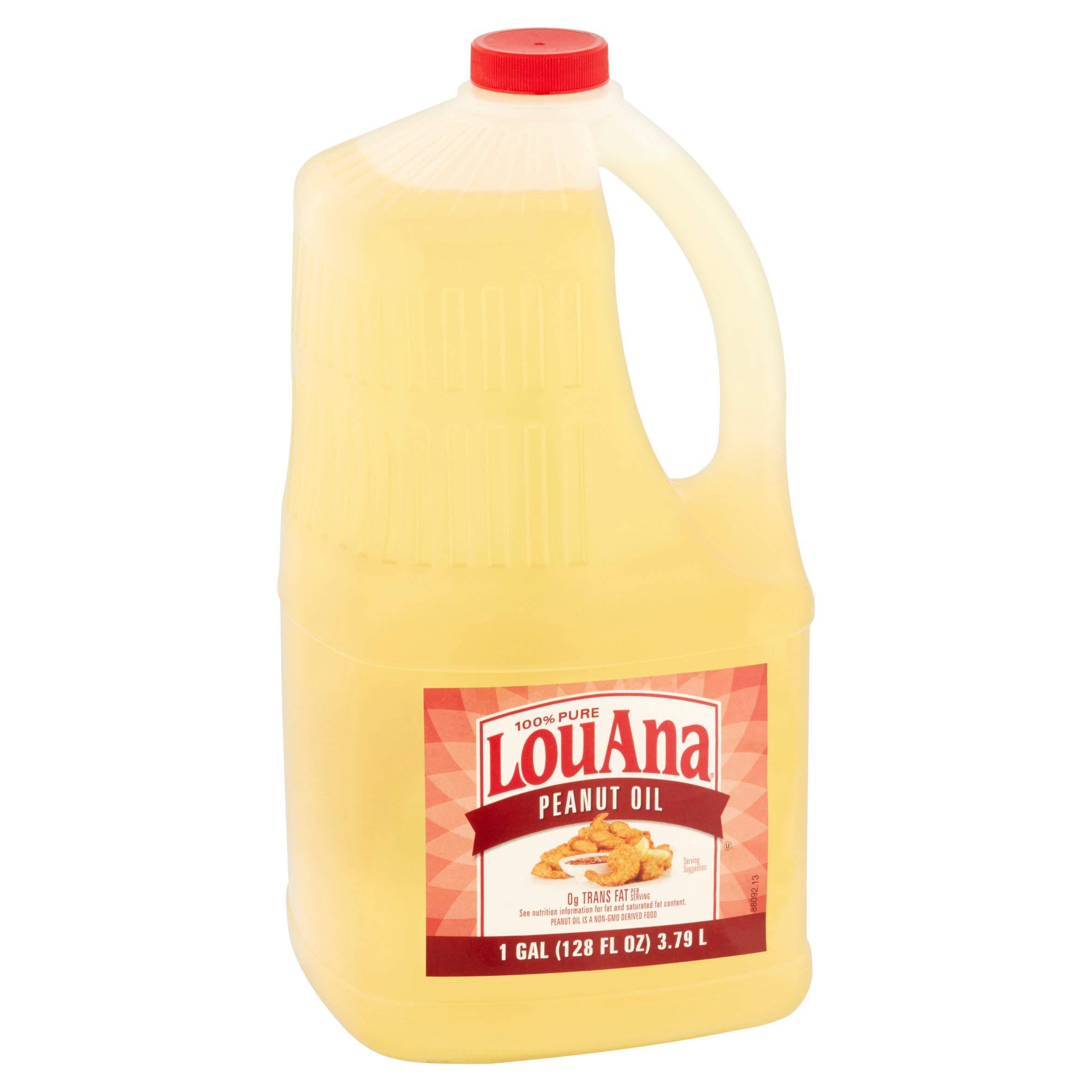 LouAna Peanut Oil, 128.0 FL OZ (Pack of 4) by LouAna (Image #2)