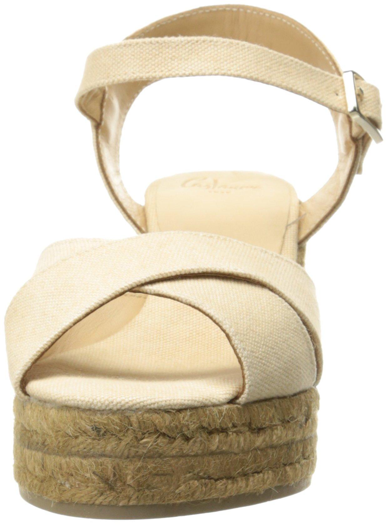 Castaner Women's Blaudell Platform Sandal, Nude (Beige), 37 EU/6.5 N US by Castaner (Image #4)