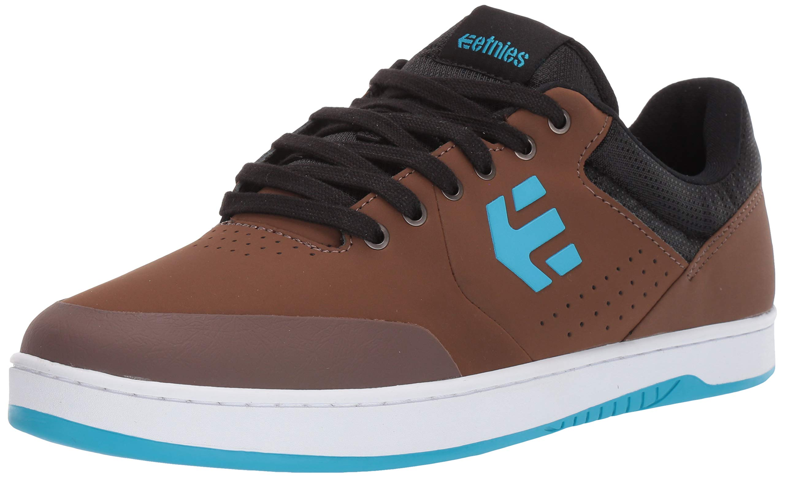 Etnies Men's Marana Crank Skate Shoe Brown/Blue 8 Medium US by Etnies