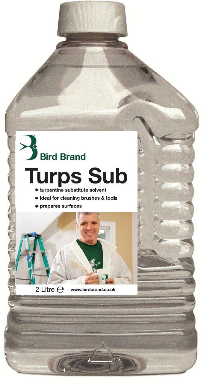 Bird Brand Turpentine Substitute Solvent Cleaner 2 litre