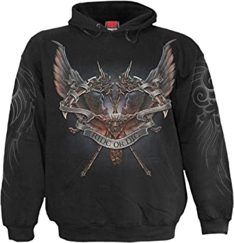 43d7e466086b Spiral Mens - Ride Or Die - Hoody Black at Amazon Men s Clothing store
