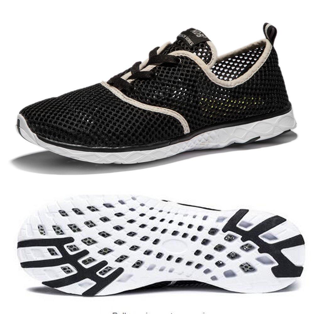 5deeecf5bb4c22 NDB Women's Mesh Lace-Up Quick Drying Aqua Water Shoe: Amazon.co.uk: Shoes  & Bags