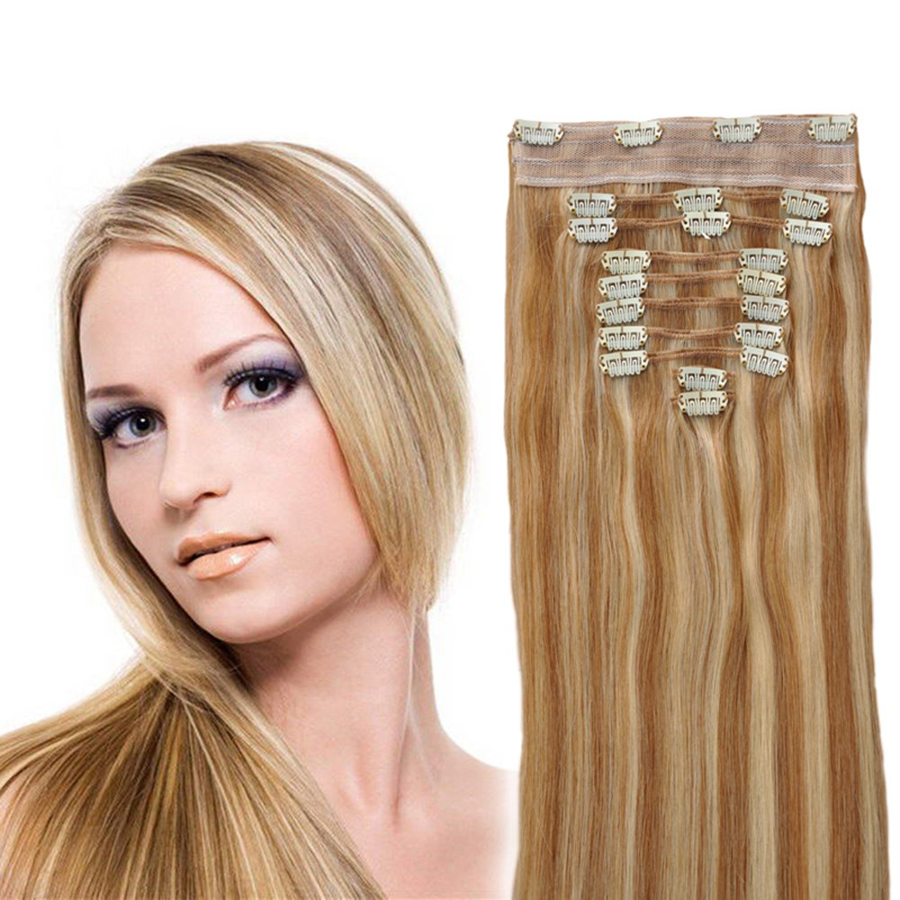 Amazon Yonna Clip In Sets 10pcs Clip In Human Hair Extensions