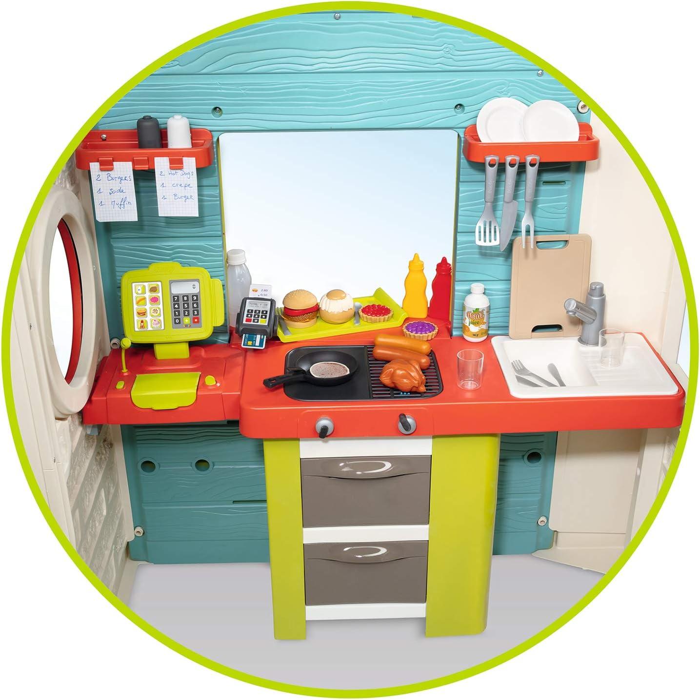 Chef House Maison de Jardin 810403 Smoby Bleu