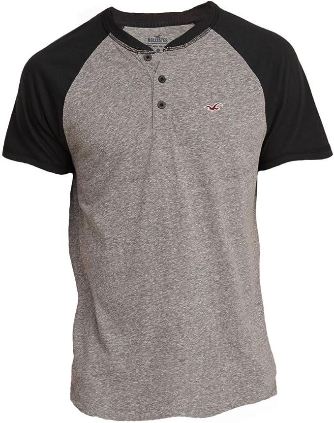 Hollister - Camiseta - Camiseta - Básico - Manga Corta - para ...