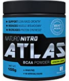 Naturo Nitro, BCAA Instantized Powder, Best Branched Chain Amino Acids, 28 Servings, 5.5g Per Serving, Lemon Lime Flavor …