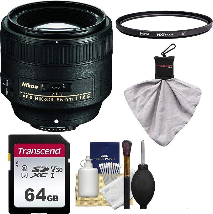 Nikon 85 Mm F 1 8g Af S Nikkor Objektiv Mit Uv Filter Kamera