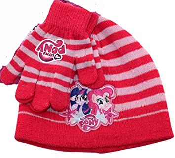 Exclusive My Little Pony Winter Hat and Gloves Set - Child Junior (Red)   Amazon.co.uk  Sports   Outdoors 33a5ed3ea4f