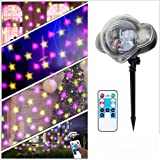 e8aa9551bc8  Regalos de Navidad  LED Luces de Navidad Decoración Estrella Proyector Luz  Impermeable con Control