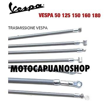 Kit Cables hilos embrague Cambio grises assemblati Vespa 125 Et3 Primavera