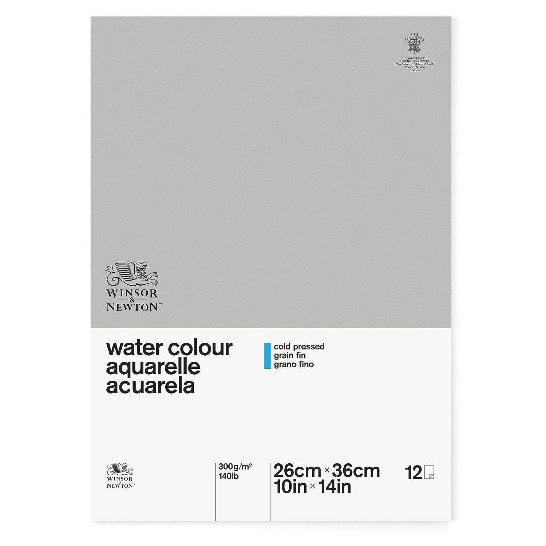 Winsor & Newton Classic Watercolor Paper Postcard Pad, Cold Pressed 140lb, 4x6 4x6 6663255
