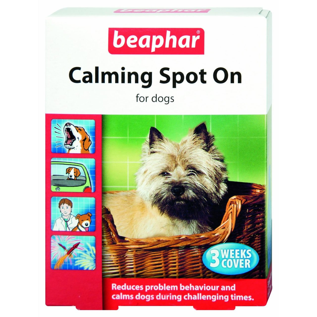 (2 Pack) Beaphar - Calming Dog Spot On
