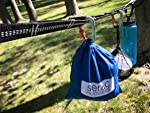 The Quick & Easy Tree Webbing Suspension System for Hammock Camping, Backpacking and Travel - 35 and 24 loops per strap …