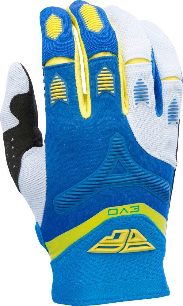 Fly Racing Unisex-Adult Eva Gloves Blue//Yellow//White XX-Large 370-11112