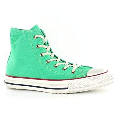 5795ef23f34 Converse CT All Star Hi Well-Washed Canvas Deep Mint Womens Trainers Size 4  UK