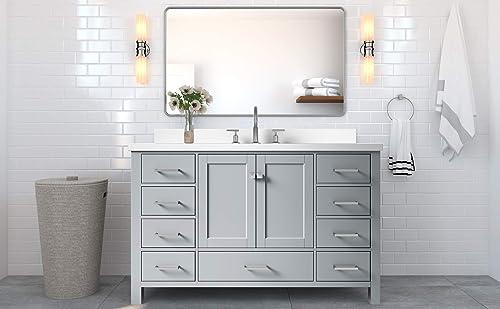 DKB Beckford Series 55″ Inch Bathroom Vanity