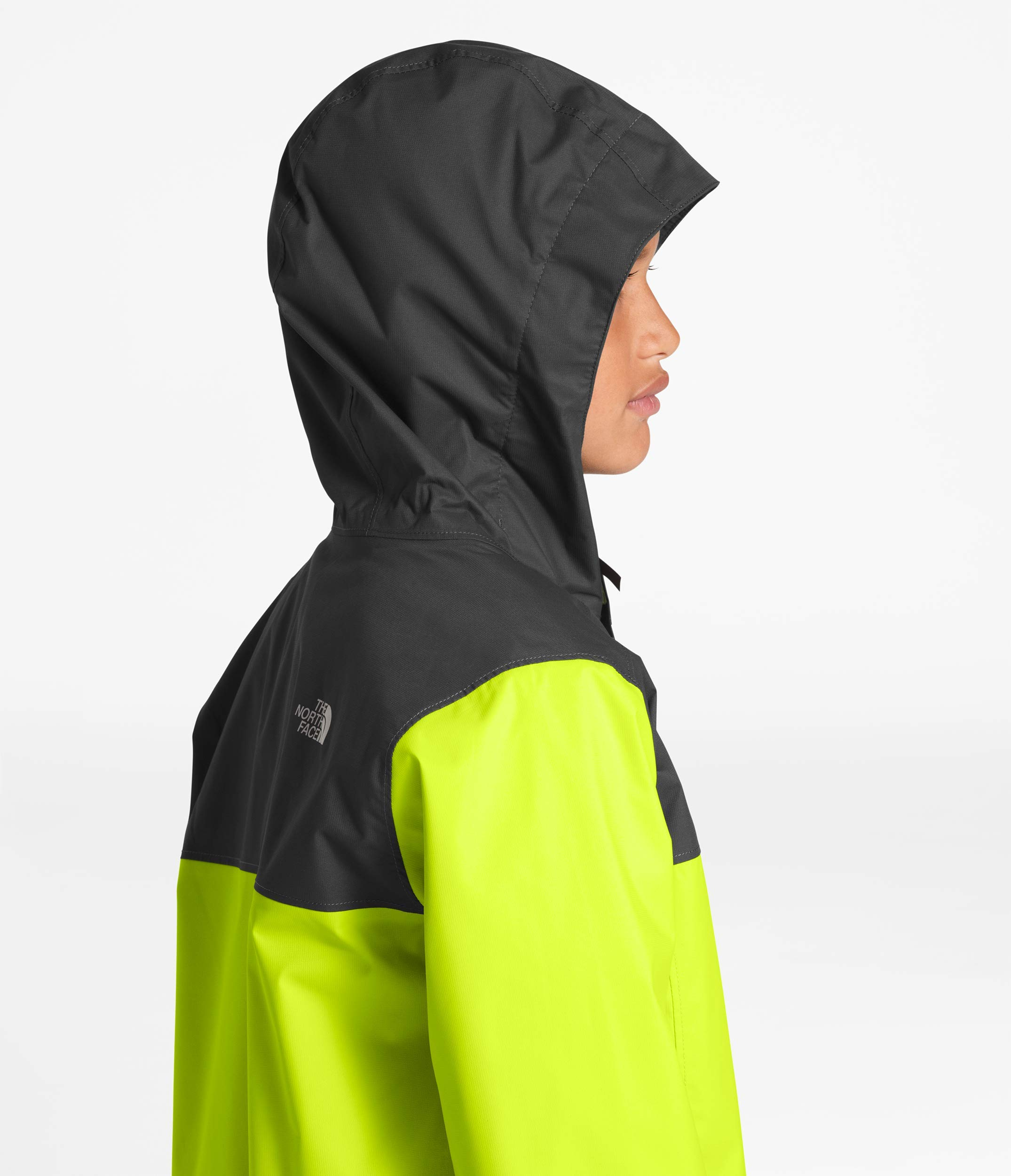 The North Face Kids Boy's Resolve Reflective Jacket (Little Kids/Big Kids) Lime Green Small by The North Face (Image #5)