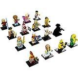 LEGO Series 17 Minifigures - Complete Set of 16 Minifigures (71018)