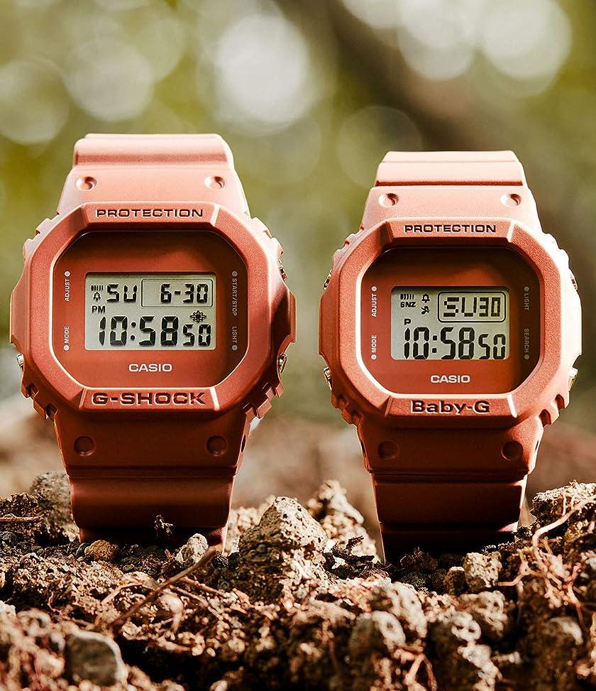 [カシオ] 腕時計 ジーショック DW-5600ET-5JF メンズ ブラウン