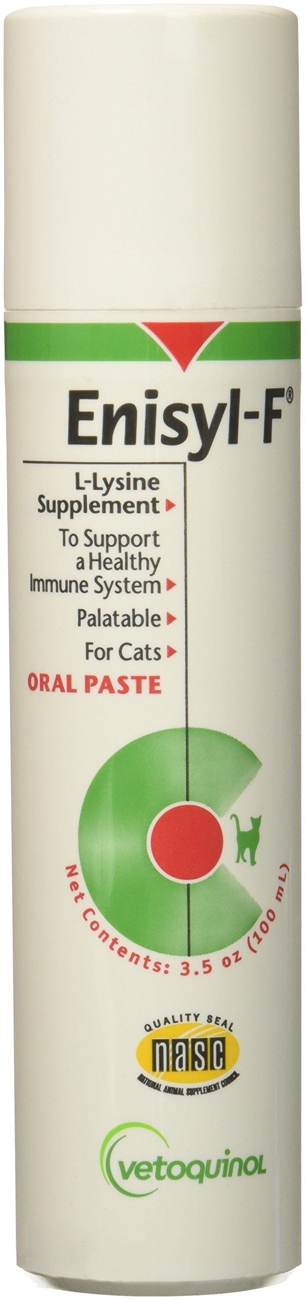 6 Packs Enisyl-F Oral Paste for Cats 600 ml (6 x 100 ml) by Vetoquinol