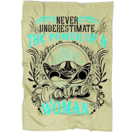 Amazon com: OAKSTORE The Power of A Cancer Woman Blanket