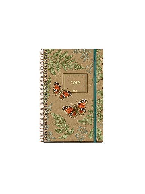 Miquelrius 38106 - Agenda anual día página 2019: Amazon.es ...
